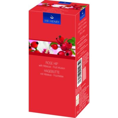 SIR HENRY Rose Hip with Hibiscus tee 25pk