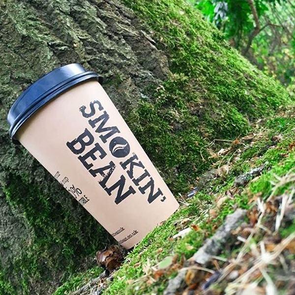 """Kohvitops """"Smokin Bean"""" 100% biolagunev 350ml 50tk 1"""