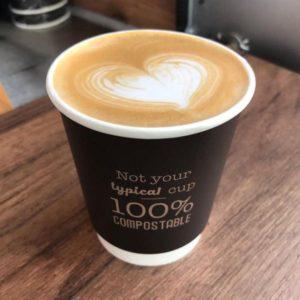 Kohvitops topelt seinaga Smokin Bean 100% Vegware 250ml