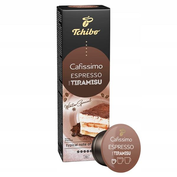 Kohvikapslid TCHOBO Espresso Tiramisu