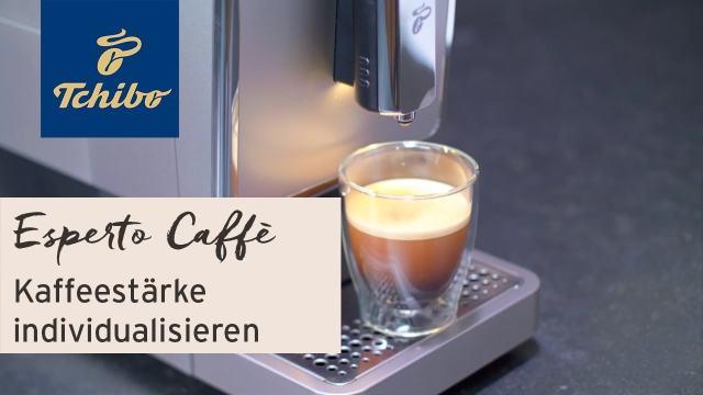 Kohvimasin TCHIBO Esperto kohvi kanguse reguleerimine