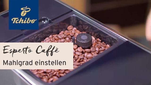 Kohvimasin Tchibo Esperto kohvivesti jahvatusastme reguleerimine