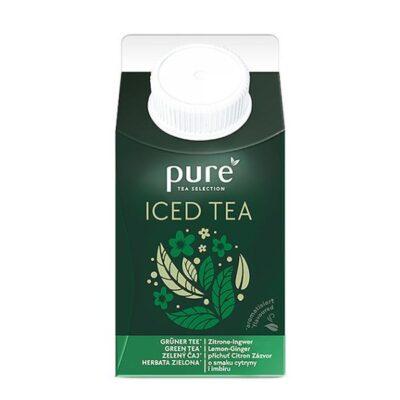Jäätee PURE Roheline tee & sidrun  500ml