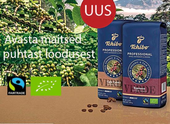 Kohvioad ÖKO Tchibo Verde 1kg