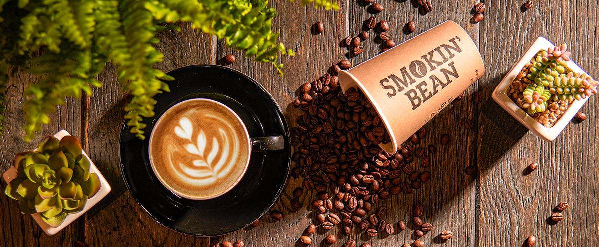 Kohvioad Smokin Bean bänner 2021