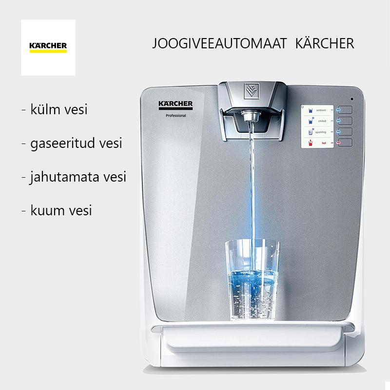 Joogiveeautomaat KÄRCHER 2021