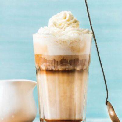 Pähklimaitselise Cafe Latte retsept