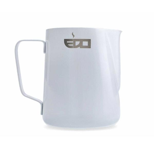 Piimakann EDO 600ml roostevaba valge
