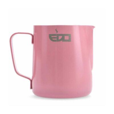 Piimakann roosa EDO BARISTA roostevaba 600ml
