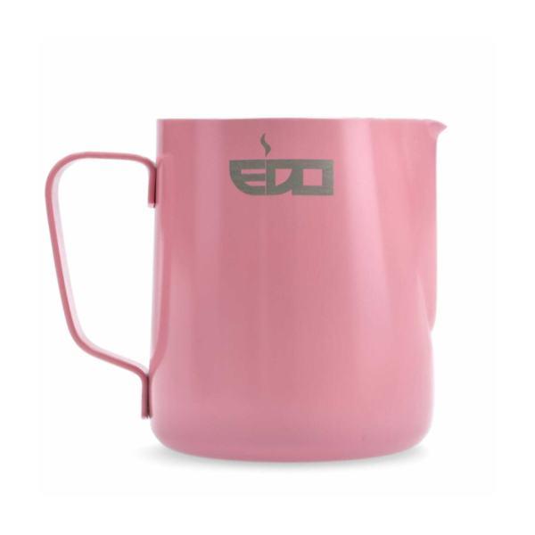 Piimakann roostevaba EDO BARISTA roosa 600ml