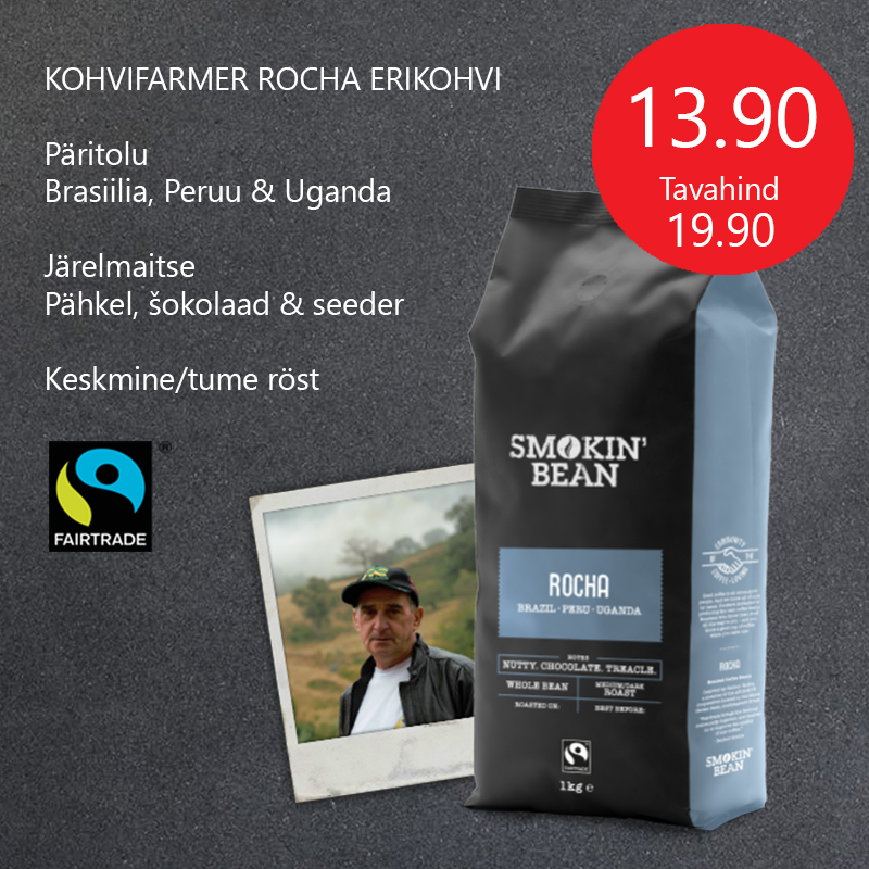 Kohvoad SMOKIN BEAN Rocha erikohv