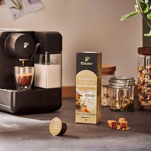 Kohvikapslid Cafissimo Buttertoffe kapslimasinaga - Kohvimasinad.ee